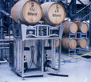 Wine Barrel Cleaning Equipment, click to view